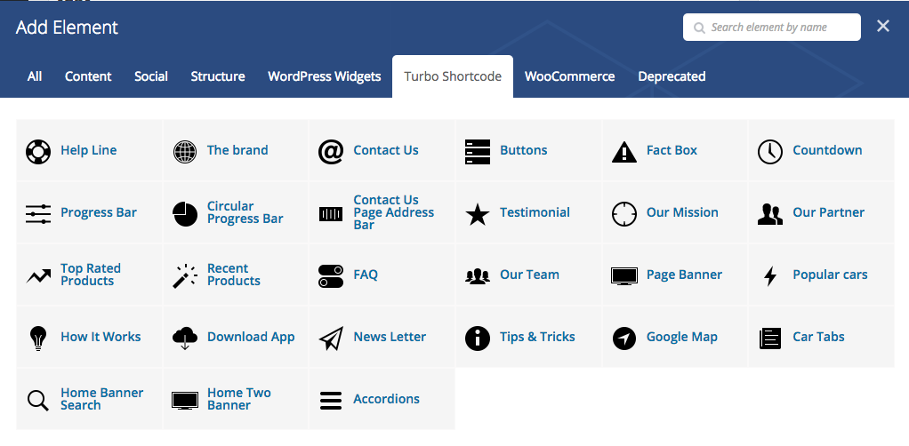 Intro Turbo Car Al WordPress Theme